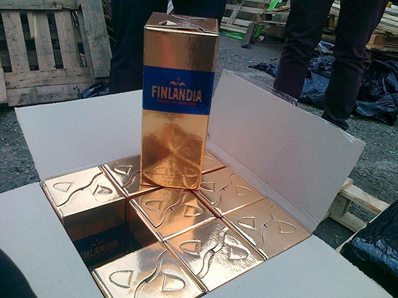 У Могилів-Подільському виявлено та вилучено близько 3 тисяч літрів фальсифікованої алкогольної продукції