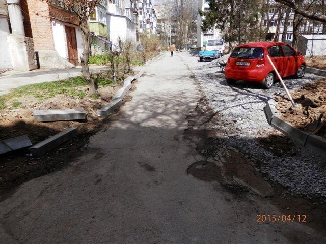 У місті розпочалась комплексна реконструкція ще двох прибудинкових територій