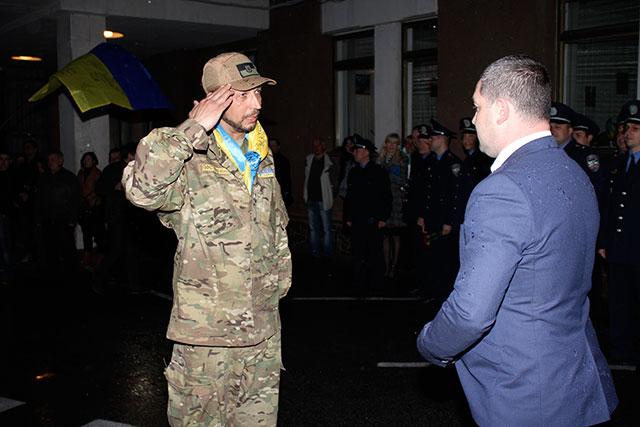 Офіцери податкової міліції Вінниччини повернулися з зони АТО