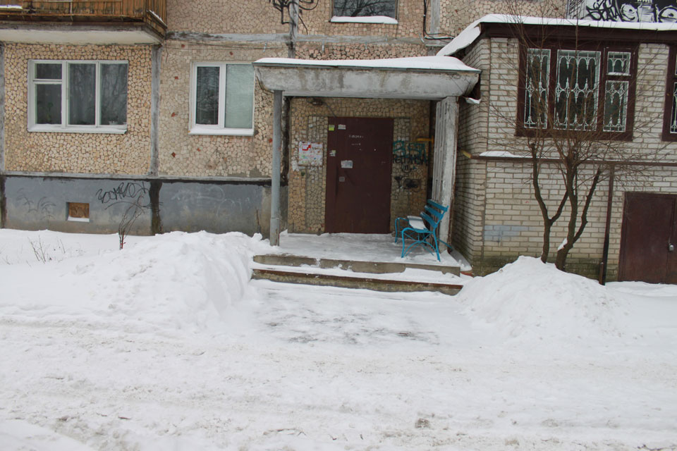 Вінниця  в снігу