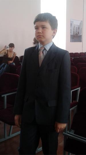 П'ятикласник вінницької фізико-математичної гімназії №17 Олександр Боднар їде на математичну олімпіаду до Франції