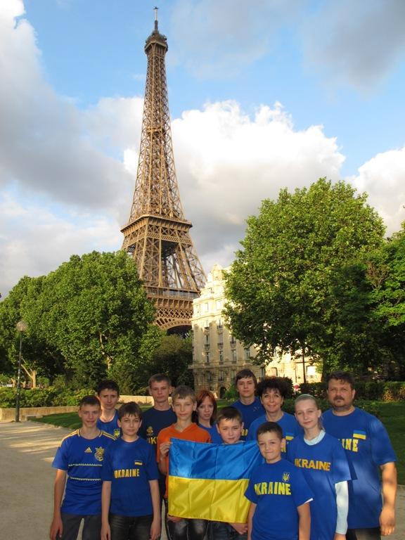 збірна вінницьких математиків у Парижі