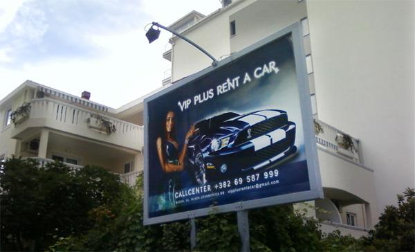 """""""Міс Вінниця-2011"""" не знала, що рекламує у Чорногорії машини"""