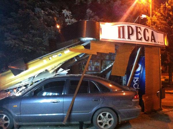 Аварія на Соборній у Вінниці