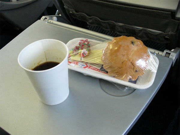 еда в самолёте