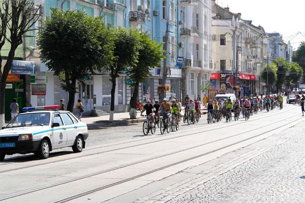 велопробіг у Вінниці