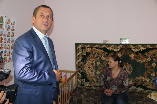 Іван Мовчан відвідав Козятинський обласний соціальний центр матері та дитини