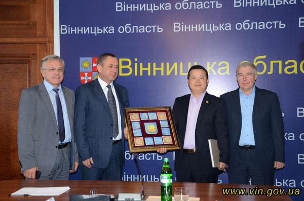 Вінницю відвідала делегація з Китайської Народної республіки