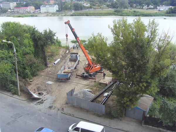 Мешканці будинку на вулиці Свердлова проти будівництва