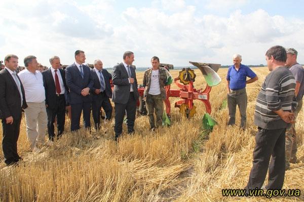 Іван Мовчан відвідав фермерське господарство Володимира Герасименка у селі Соболівка