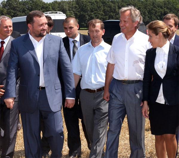 Сергій Арбузов та Микола Присяжнюк побували у селі Бохоники, що на Вінниччині