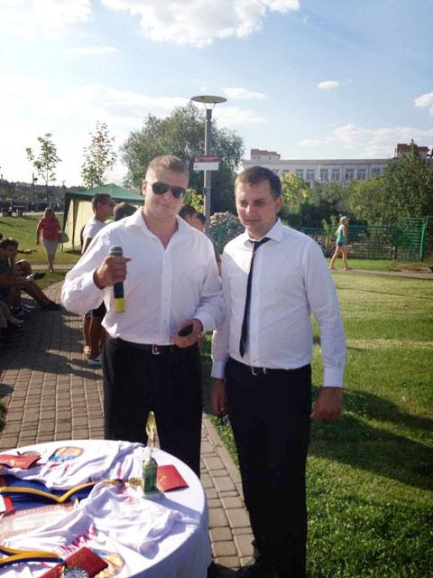 У Вінниці відбувся чемпіонат міста з віджимання
