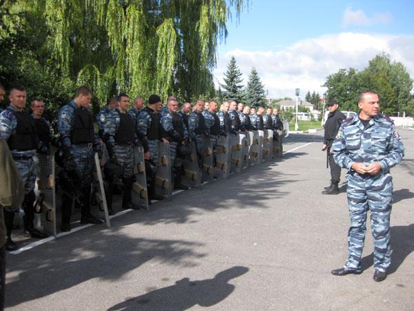 """Бійці вінницького підрозділу """"Беркут"""""""