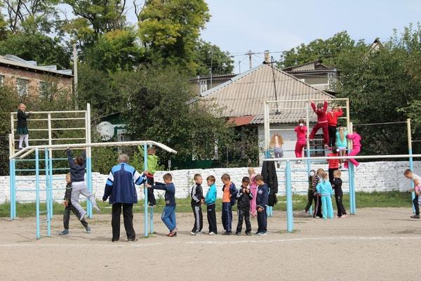 Спортивний майданчик у Могилів-Подільському