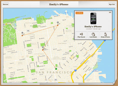 Ищем iPhone
