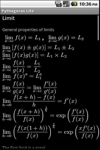 "Математика - утилита ""Пифагор"""