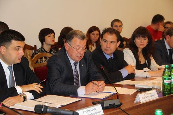 Іван Мовчан провів нараду з членами регіонального відділення Асоціації міст України