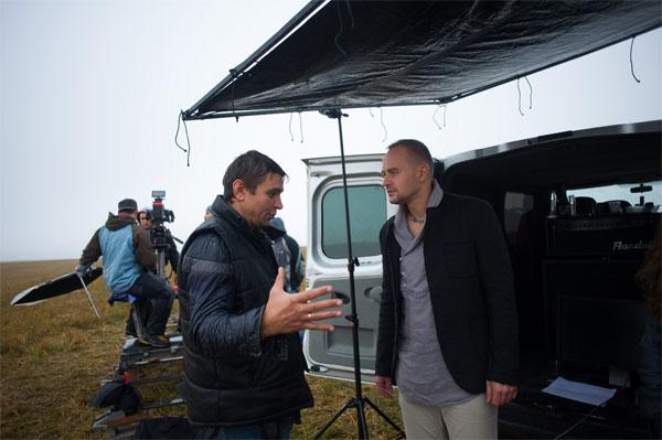 зйомки кліпу Павла Табакова