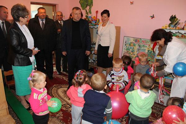 В дитячому садочку села Соколова Хмільницького району відкрили додаткову групу