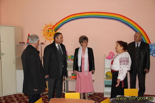 У селі Лемешівка Калинівського району відкрито дитячий садочок