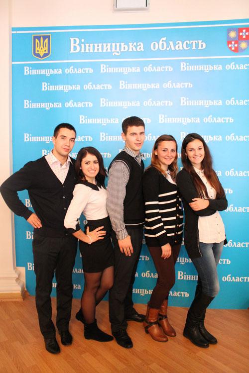 Президія Студентського Парламенту Вінниччини