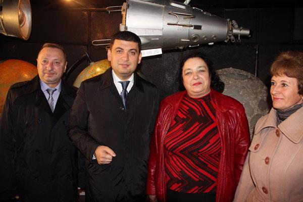 Володимир Гройсман у планетарії