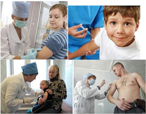 Вакцинация против гриппа 2013