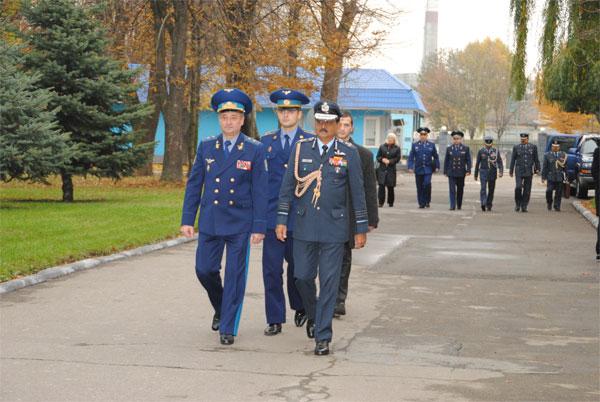 Повітряні Сили ЗС України та Республіки Індія підписали у Вінниці Протокол про співпрацю
