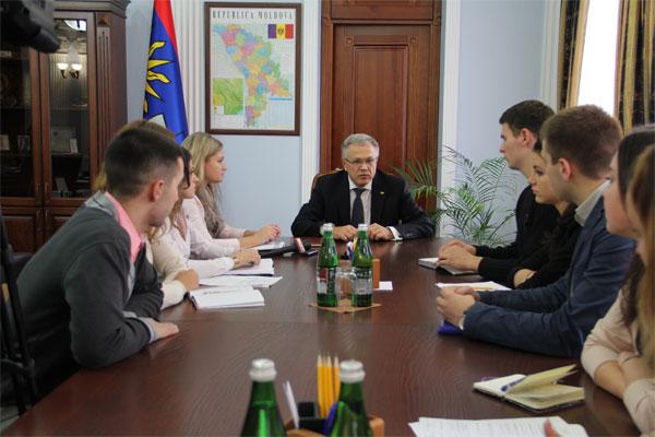 Сергій Татусяк та Володимир Продивус обговорили план роботи на найближчий місяць с президією студпарламенту