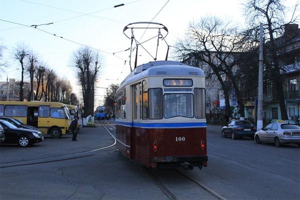 музейний ретро-вагон марки Gotha T-57