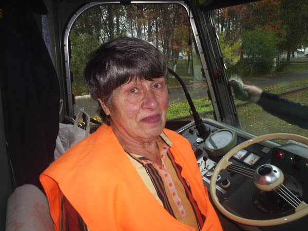 73-летняя Людмила Еремеева, чей трудовой стаж в Винницком ТТУ составляет 55 лет