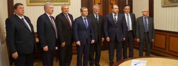 Віце-прем'єр-міністр Олександр Вілкул на зустрічі з делегацією Європейського економічного сенату
