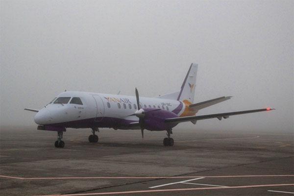 Самолет перед взлетом