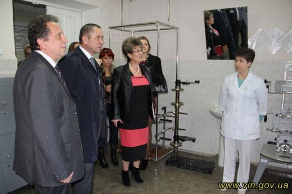 Іван Мовчан відвідав Вінницьке казенне експериментальне протезно-ортопедичне підприємство