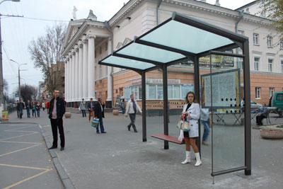 Цьогоріч у Вінниці з'явилося 13 нових зупинок громадського транспорту