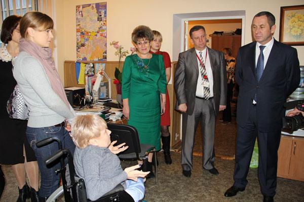 Іван Мовчан відвідав обласну громадську організації молоді з обмеженими фізичними можливостями «Гармонія»