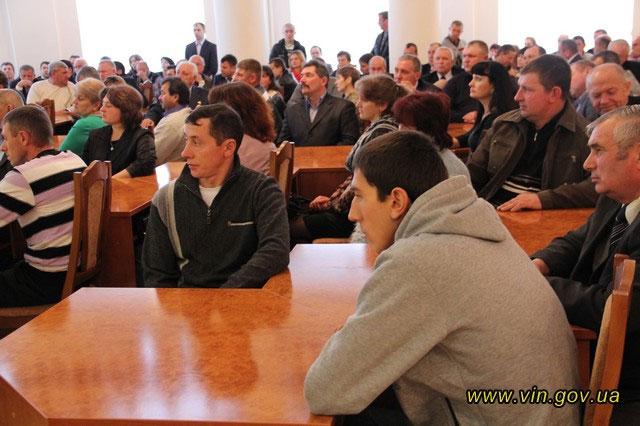 Керівники області та міста привітали аграріїв Вінниччини з професійним святом