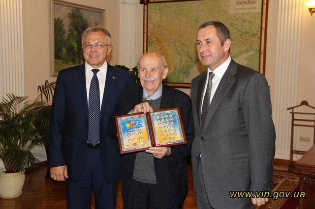 Вінницю відвідав всесвітньо відомий вчений Богдан Гаврилишин