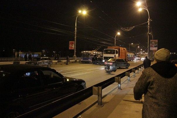 ДТП на центральному мосту Вінниці