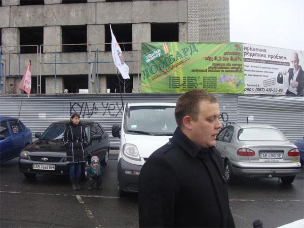 Вінницькі автомобілісти автопробігом вшанували пам'ять загиблих у ДТП