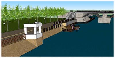 проект реконструкції набережної