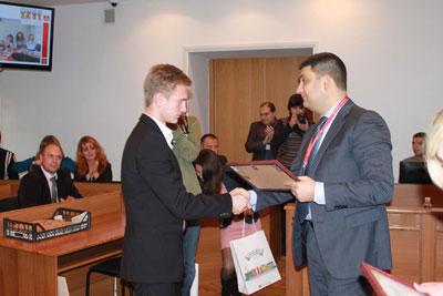 19 листопада у мерії пройшов захист кращих студентських проектів за програмами «Startup» та «Молодіжна альтернатива».