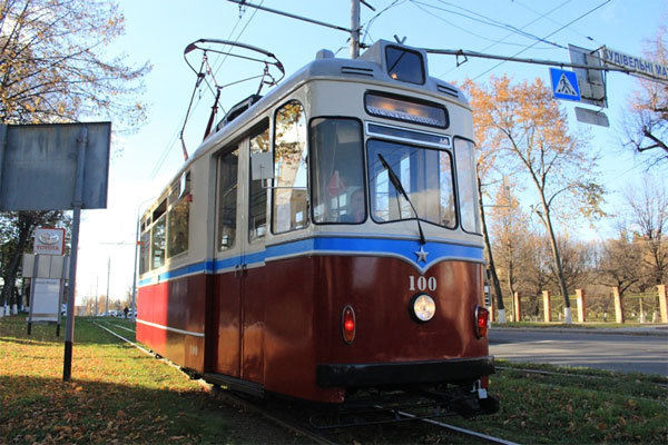 трамвай ГОТА 1957 року випуску