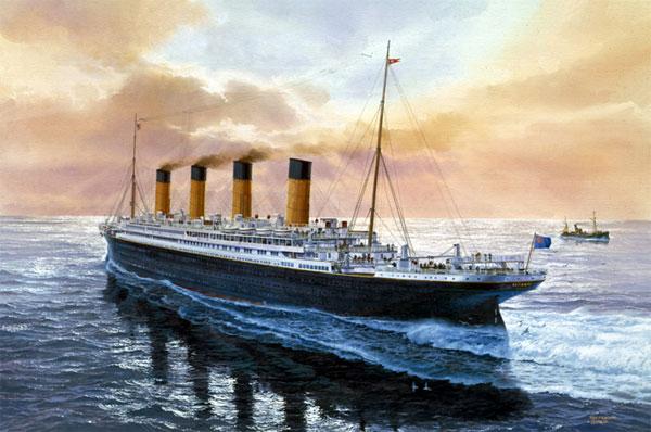 Товариство подорожей «Земна Куля» запрошує вас на легендарний корабель ТИТАНІК!