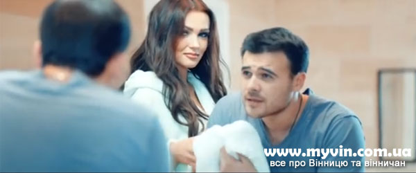 Емін Агаларов та Ольга Стороженко