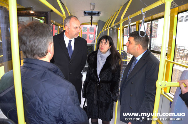 нові автобуси у Вінниці