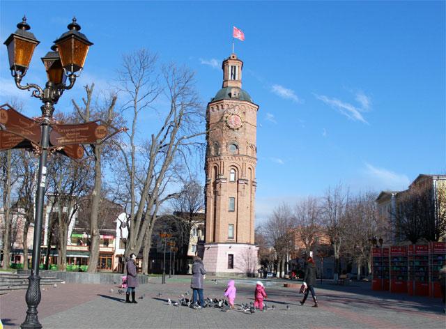 Сквер Козицького = Європейська площа