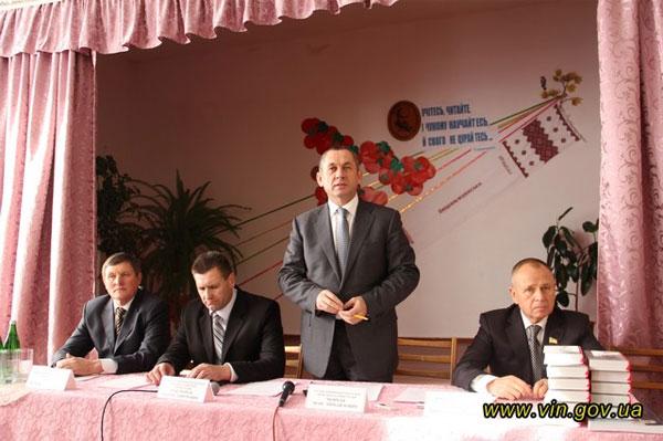 Іван Мовчан спільно з Миколою Джигою відвідав Вищеольчедаївську загальноосвітню школу