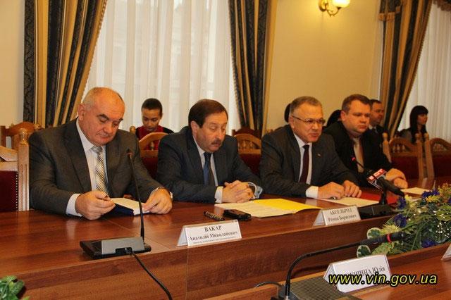 5 грудня у Вінниці підписано Меморандум про III фазу Швейцарсько-Українського проекту DESPRО