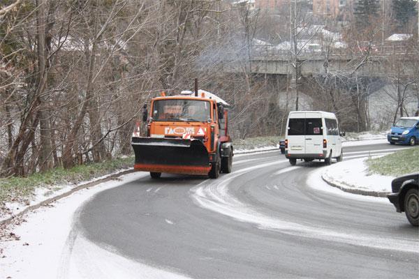 снігоприбиральна техніка у Вінниці